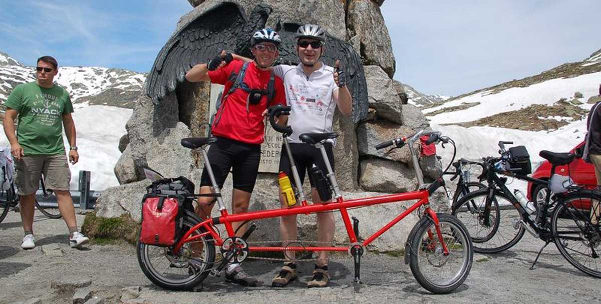 bernds_folding_bike_faltrad_Sankt_Gotthard_tandem_geschafft